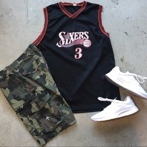"""Other - Sixers """"Iverson #3"""" Jersey Size XL / $20"""